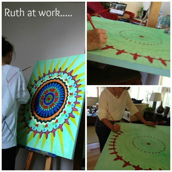 Ruth at work 2