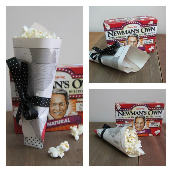 Popcorn holder